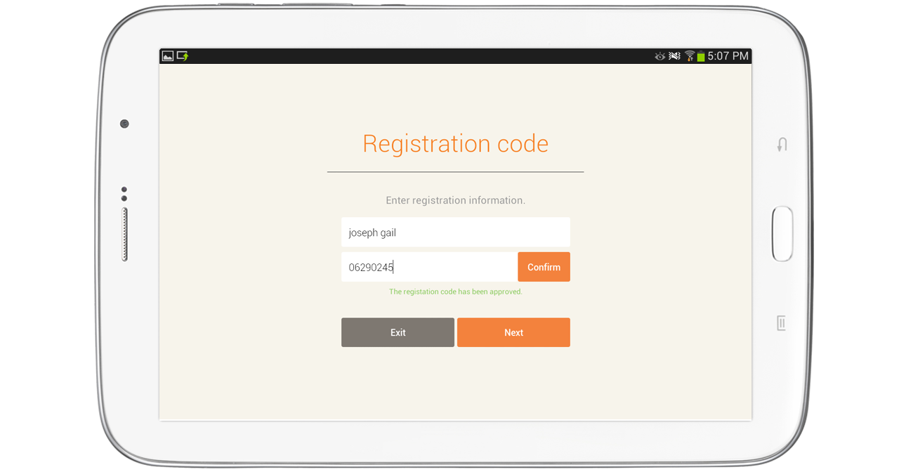 Loudclass Tutorial -Registering teacher and student tablets