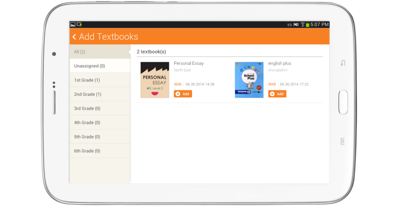 Add textbook in Loudclass Interactive